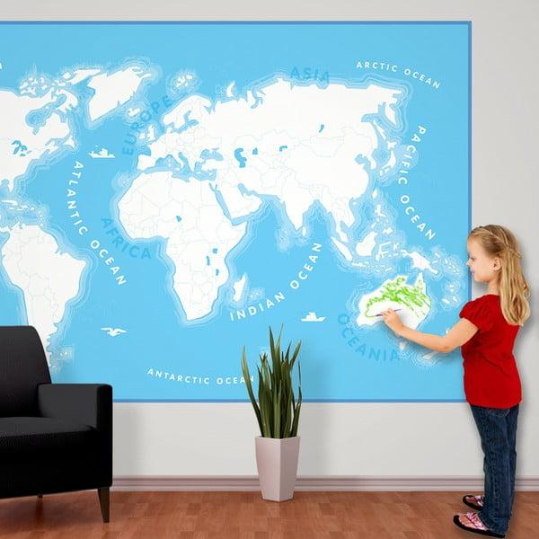 Velkoformátová tapeta Kids Map, 158x232cm