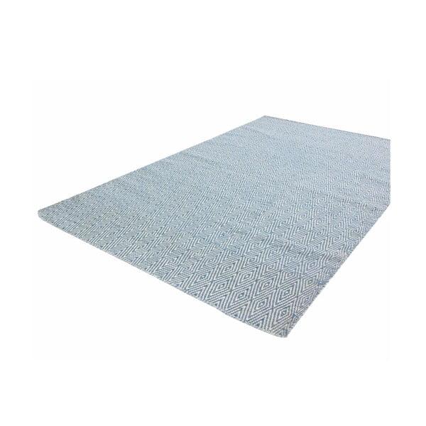 Ručně tkaný koberec Kilim Barfi Blue, 160x230 cm