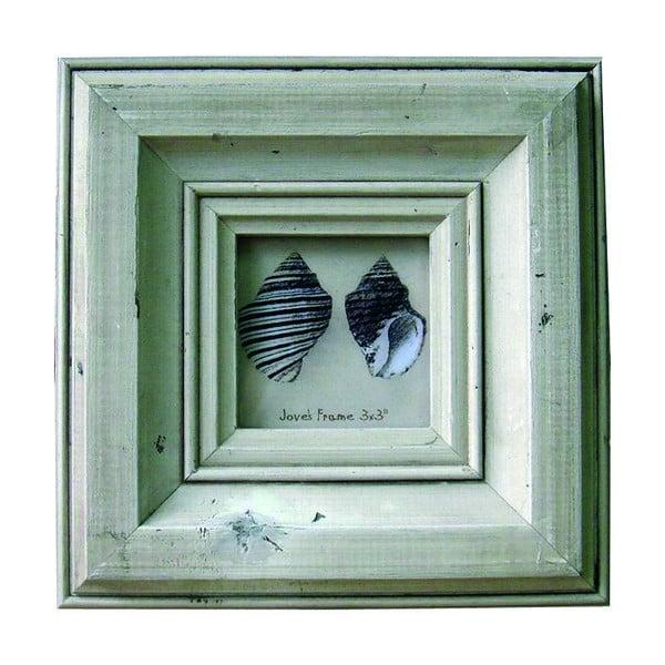 Dřevěný rámeček, fotka 6x6 cm