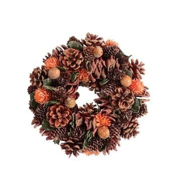 Coroniță cu conuri pentru Crăciun J-Line Pine imagine