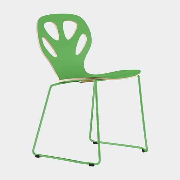 Židle Maple, zelená