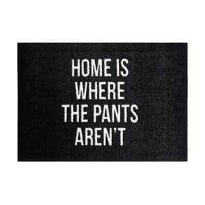 Covor ușă Hanse Home StateMat Home, 50 x 75 cm, negru