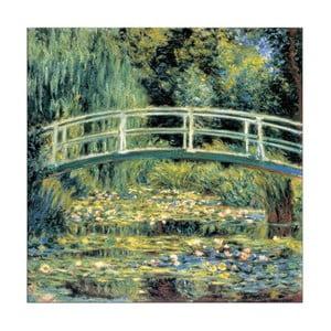 Obraz Monet - Le pont japonais, 30x30 cm