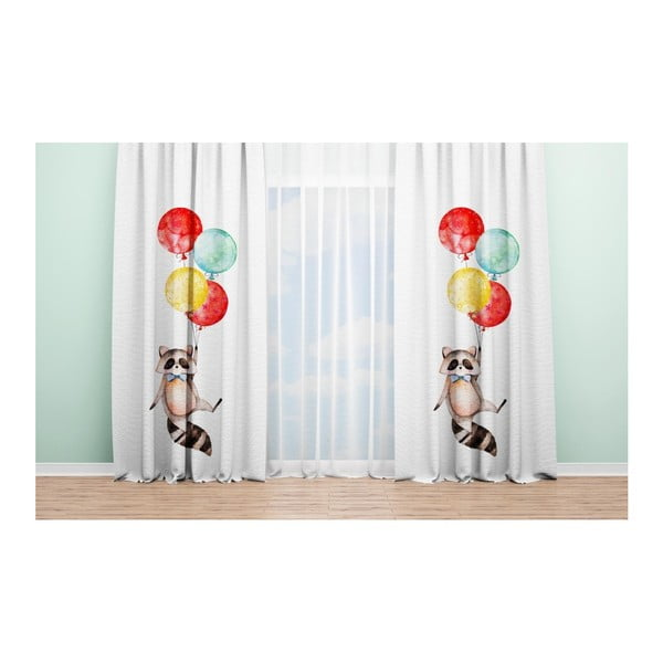 Draperie OYO Kids Raccoon Adventures, 140 x 240 cm