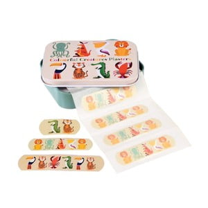 Set plasturi în cutie Rex London Colourful Creatures