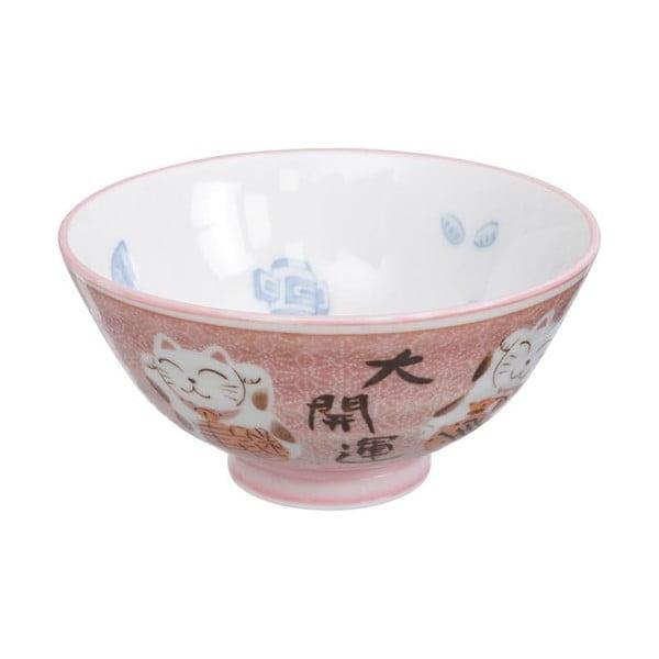 Cat rózsaszín tálka, ø 11,2 cm - Tokyo Design Studio