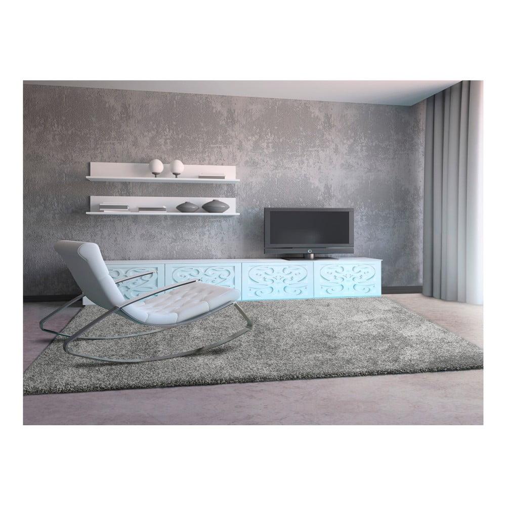 Produktové foto Šedý koberec Universal Aqua Liso, 67 x 300 xm