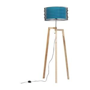 Modrá Stojací lampa Kare Design Wire Tripod