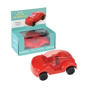 Ascuțitoare în formă de mașinuță Rex London Supercar, roșu imagine