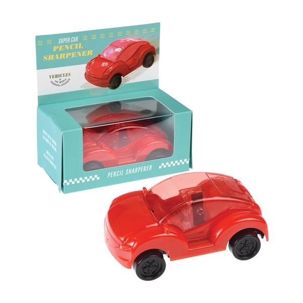 Červené ořezávátko ve tvaru auta Rex London Supercar