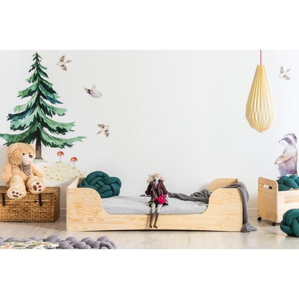 Dziecięce łóżko z drewna sosnowego Adeko Pepe Frida, 100x180 cm
