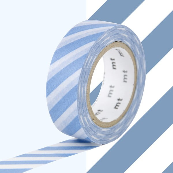 Bandă decorativă Washi MT Masking Tape Bertille, rolă 10 m