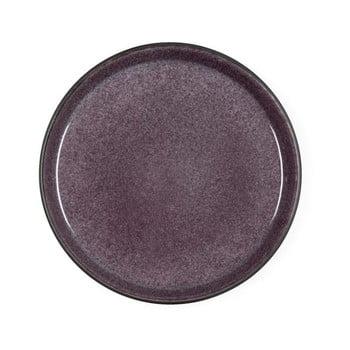 Farfurie din ceramică pentru desert Bitz Mensa, diametru 21 cm, violet prună de la Bitz