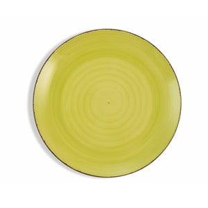 Sada 6 limetkově zelených talířů Villa d´Este Baita, ø 27 cm