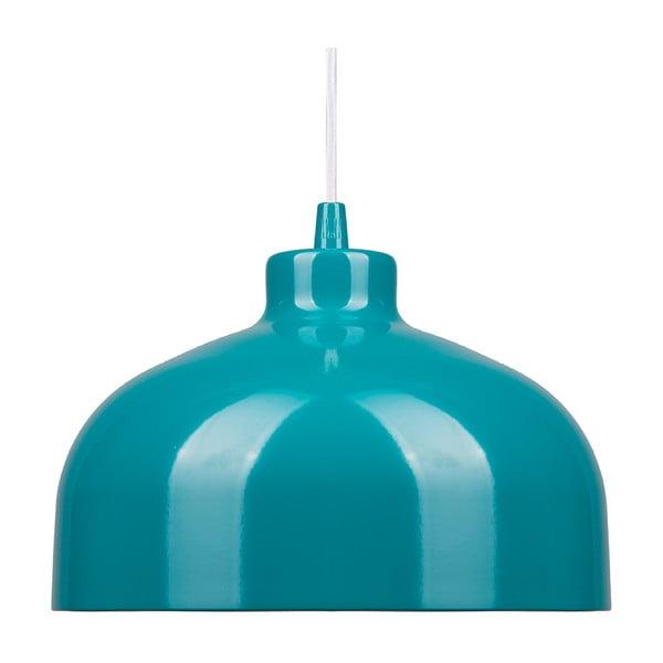 Tyrkysové stropní světlo Loft You B&B, 44 cm