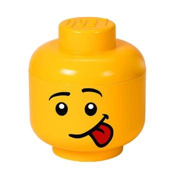 Cutie depozitare LEGO® Silly S, galben, ⌀ 16,3 cm de la LEGO®
