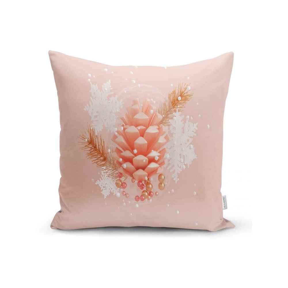 Povlak na polštář Minimalist Cushion Covers Pink Cone, 45 x 45 cm