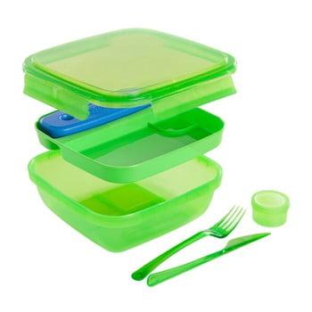 Cutie prânz cu tacâmuri Snips Lunch, verde de la Snips
