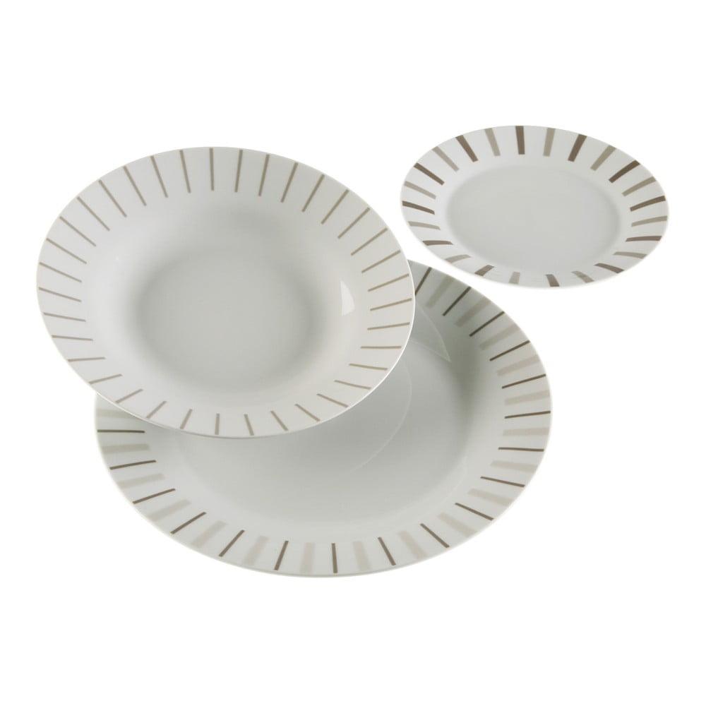 18dílný set talířů z porcelánu VERSA Provensal