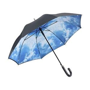 Modrý holový deštník s dvojitou vrstvou Von Lilienfeld Bavarian Hamburg Sky