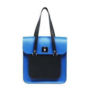 Kožená kabelka Rosemont Royal Blue/Black XL