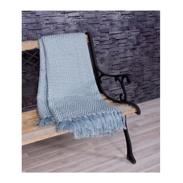 Přehoz Cool Spring 130x170 cm, modrý