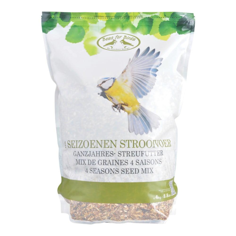 Celoroční krmení pro ptáčky Esschert Design, 4kg