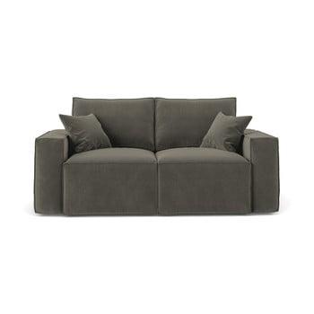 Canapea cu 2 locuri Cosmopolitan Design Florida, gri închis