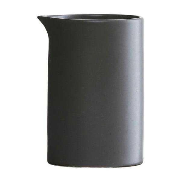 Černá porcelánová mléčenka House Doctor Milky