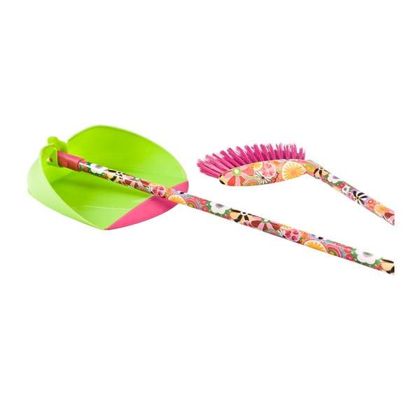 Košťátko s lopatkou Vigar Colorful World