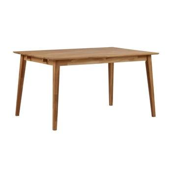 Masă din lemn de stejar Rowico Mimi, lungime 140cm poza