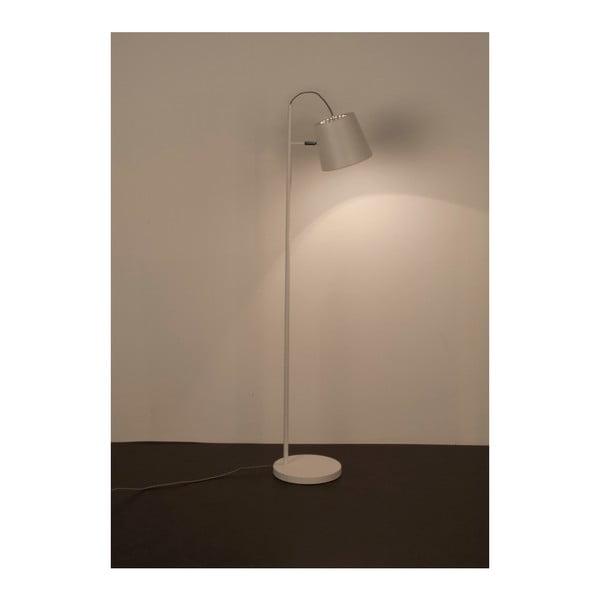 Bílá stojací lampa Zuiver Buckle Head