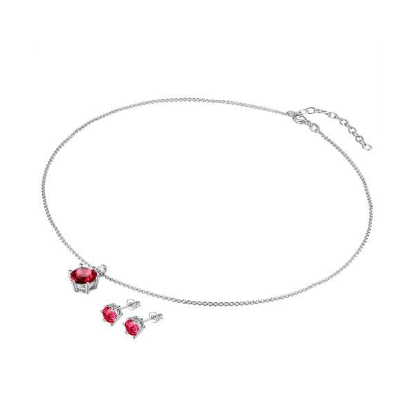 Sada náhrdelníku a náušnic s krystaly Swarovski Lilly & Chloe Alexandre