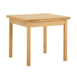 Rozkládací jídelní stůl z borovicového dřeva Støraa  Marlon, 80x80cm
