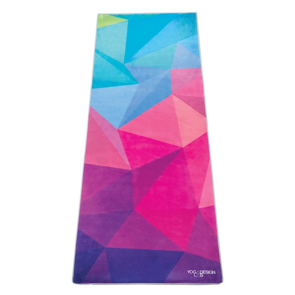 Ručník na jógu Yoga Design Lab Hot Geo, 340 g