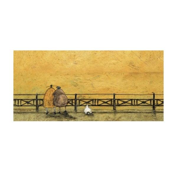 Obraz na plátně Na procházce od Sam Toft, 100x50 cm