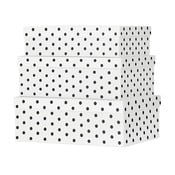 Sada 3 papírových úložných boxů Miss Étoile Eyes & Dots