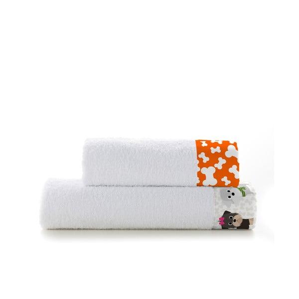 Sada 2 ručníků Mr. Fox Dogs, 50x100 cm a 70x140 cm