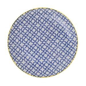 Porcelánový talíř Geo Orient, 23,8x2,6 cm