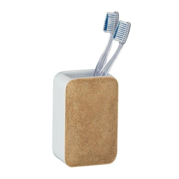 Kelímek na zubní kartáčky Wenko Ambila Beige