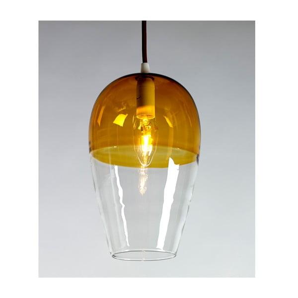 Závěsné svítidlo Ovaal Amber