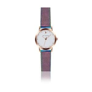Dámské hodinky s páskem z nerezové oceli v duhové barvě Emily Westwood Birdie