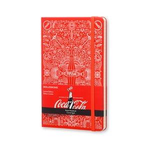 Zápisník Moleskine Coca-Cola, velký, linkovaný