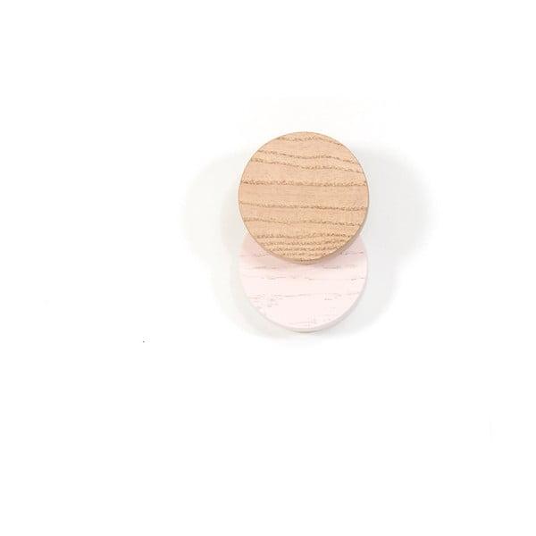 Pastelově růžový nástěnný háček HARTÔ Lou
