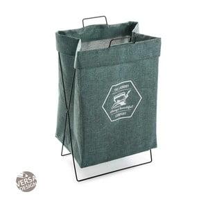 Zelený koš na prádlo Versa Company