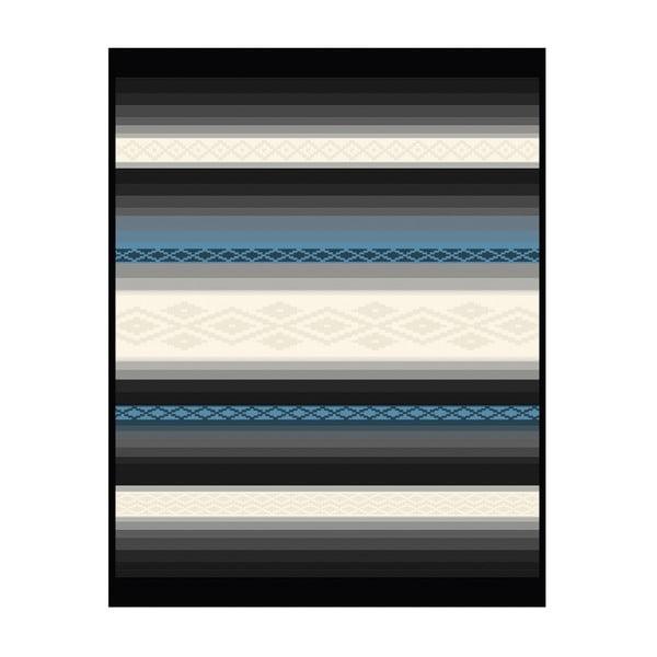 Deka Navajo Blue, 150x200 cm