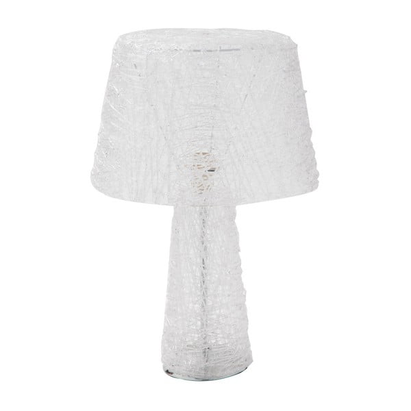 Bílá stolní lampa Mauro Ferretti Loft