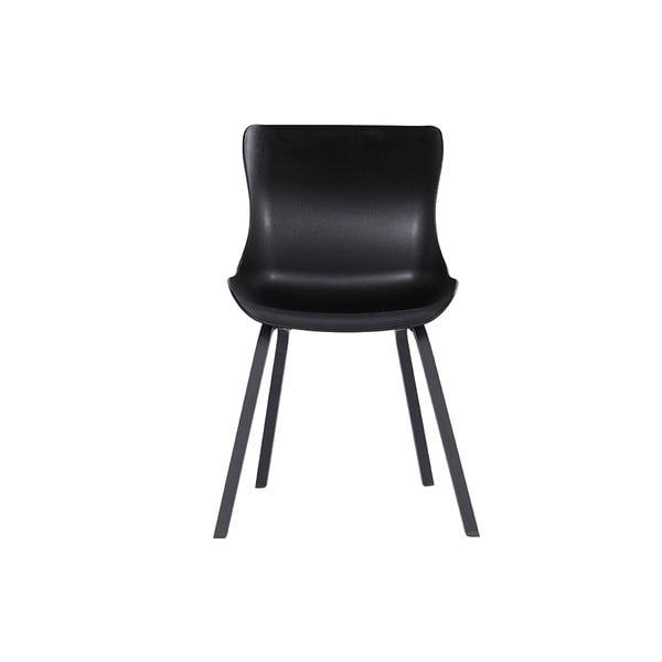 Zestaw 2 czarnych krzeseł ogrodowych Hartman Sophie Element