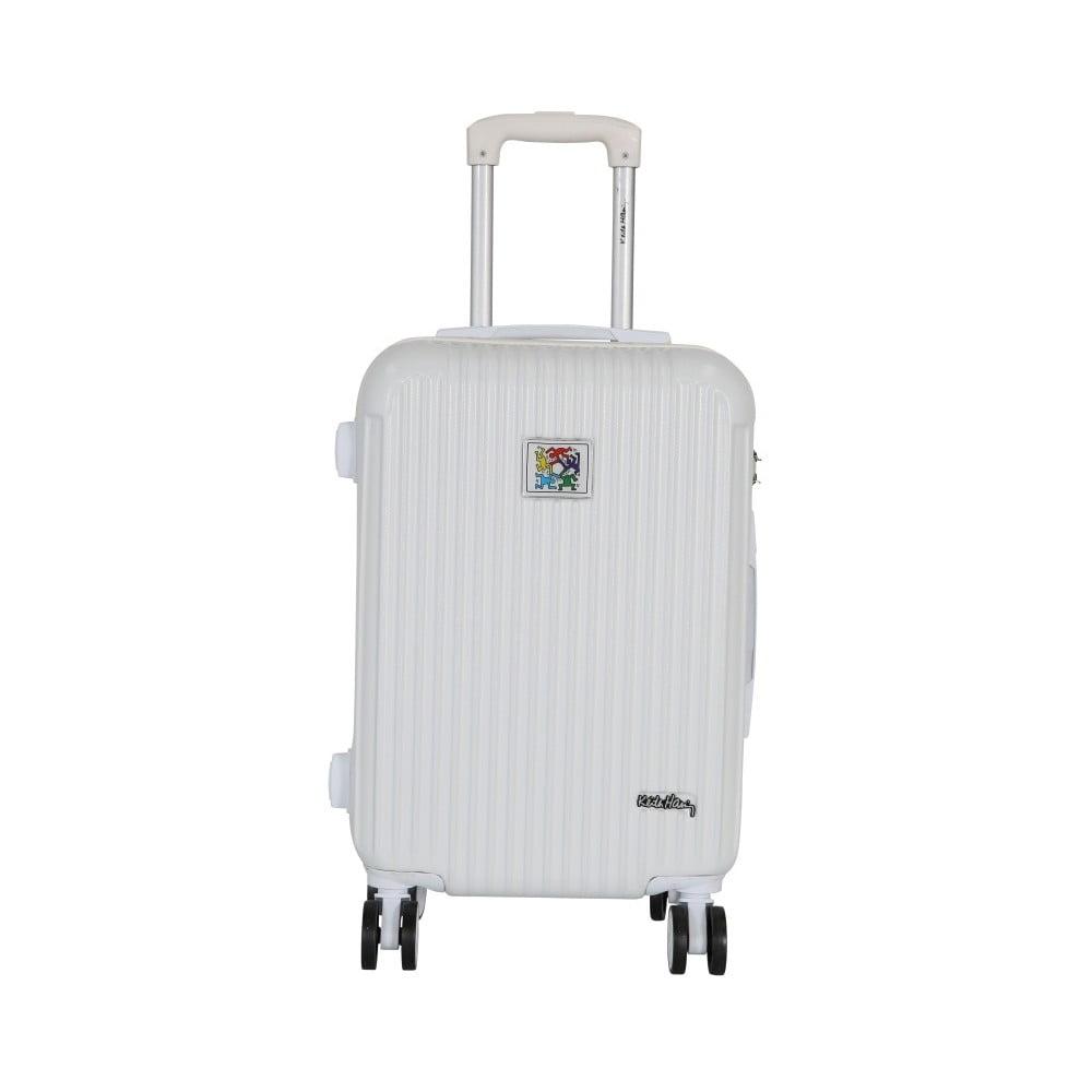 Bílý příruční kufr LULU CASTAGNETTE Darwin, 44l