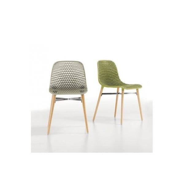 Set židlí Next 3+1 zdarma, zelená